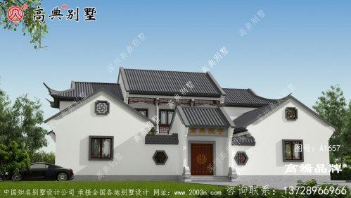 农村自建中式别墅设计图