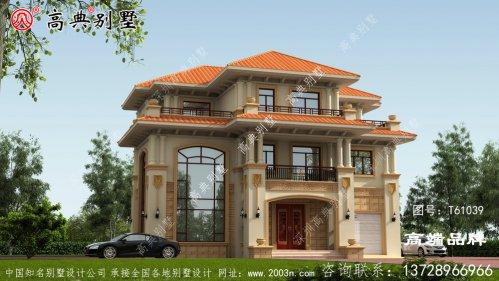 高雅三层欧式别墅设计图