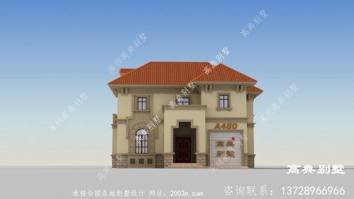 简欧别墅外观设计效果图