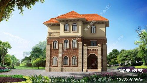 欧式风格三层复式别墅设计大全