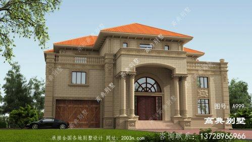高端典雅的意大利风格三层别墅