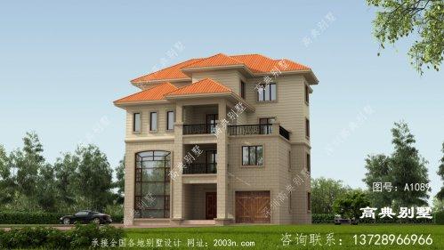 农村四层别墅设计图,外观漂亮
