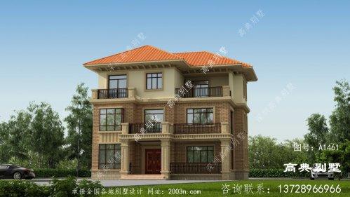 低调优雅的欧式风格三层别墅