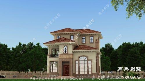 带复式大厅的欧式别墅设计,真正的豪