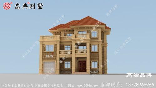 农村欧式住宅施工图设计方案精致大气