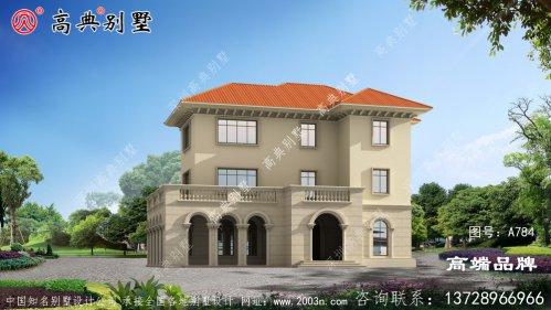 时尚三层别墅设计,简单时尚的设计