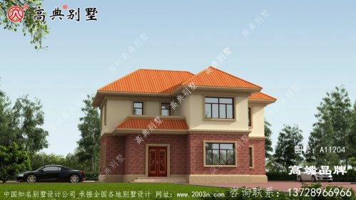 欧式两层别墅,人人都建的起