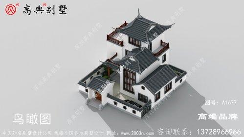 中式风格别墅,来自传统文化的优雅