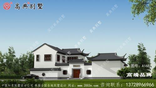灵动而又大气的中式风格别墅