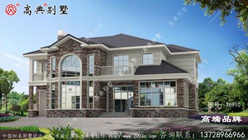 欧式风格二层别墅设计效果图