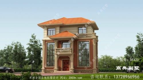 三层农村建别墅设计图,采光效果优良