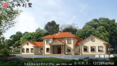 泰州市农村新款别墅图户型设计图