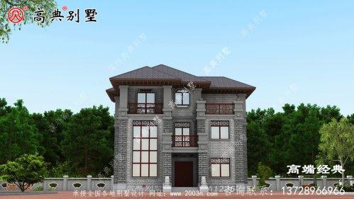 三层农村建房子设计图,保证让你眼前一