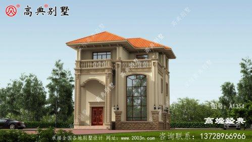 阿里地区日喀则市独栋 三层 别墅设计图