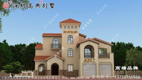 农村自建房 设计 图样 ,无需 精挑细选