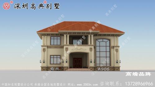 二层别墅,美观大气、方正实用,大家都