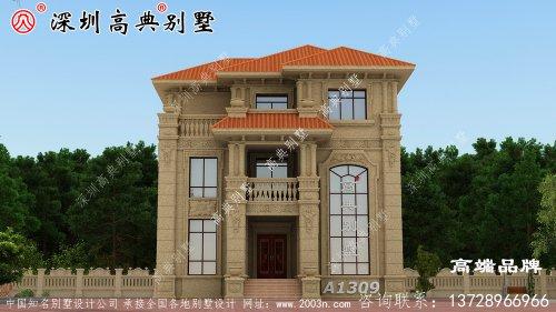 农村自建房设计图,根据现代人的审美及