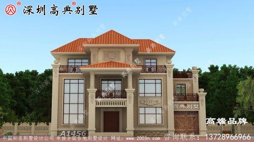 别墅设计图,外观精美,布局实用,造价