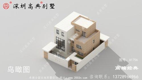 最流行现代简约别墅外观图,有效果图和
