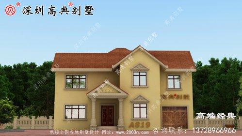 农村普通自营住宅的真实图,为自己建造