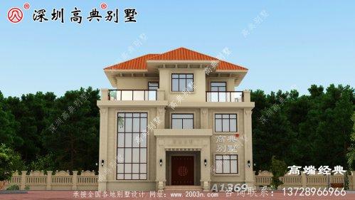 农村普通自营住宅的设计图,为自己建造